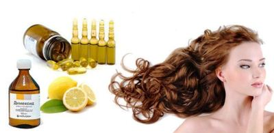 Маска для волос с димексидом: для роста волос – лучшее лекарство
