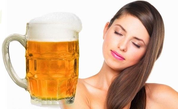Пиво для волос применение от выпадения волос