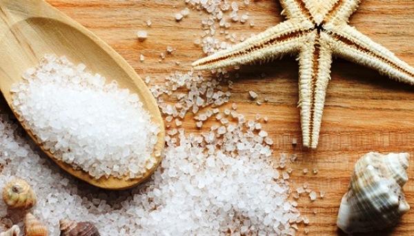 Маска для волос солью
