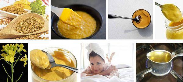 Эффективная маска для волос с сухой горчицей