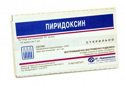 Пиридоксин для волос - Мамин советник