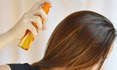 Как сделать домашний спрей для волос