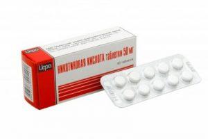 Никотиновая кислота в таблетках для роста волос