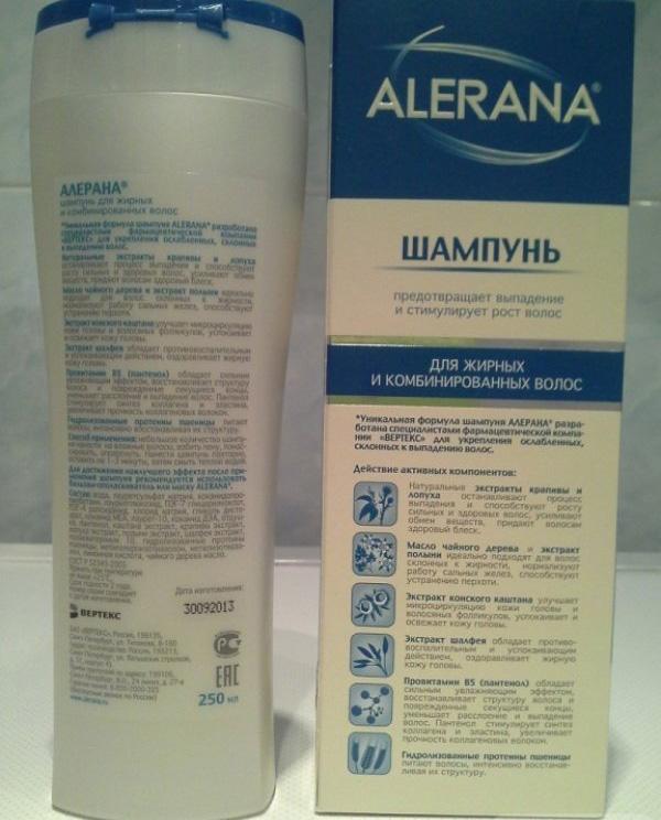 Шампунь ALERANA® для мужчин активатор роста волос