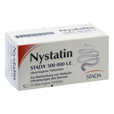 Нистатин таблетки от перхоти