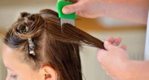 Как очистить волосы от вшей