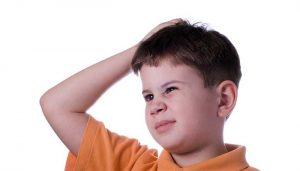 Насекомые в голове у ребенка