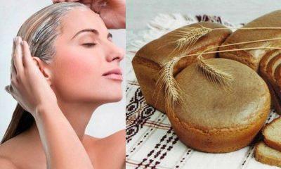 Хлеб и кефир для волос