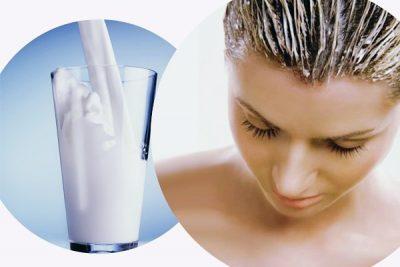Маска для волос с кефиром