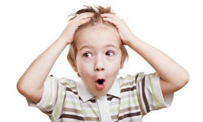 У ребенка появилось облысение на голове