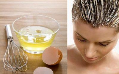 Маска для восстановления волос яичная