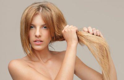 Маска для волос сухих на кончиках