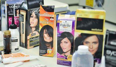 Выпадение волос у женщин от краски