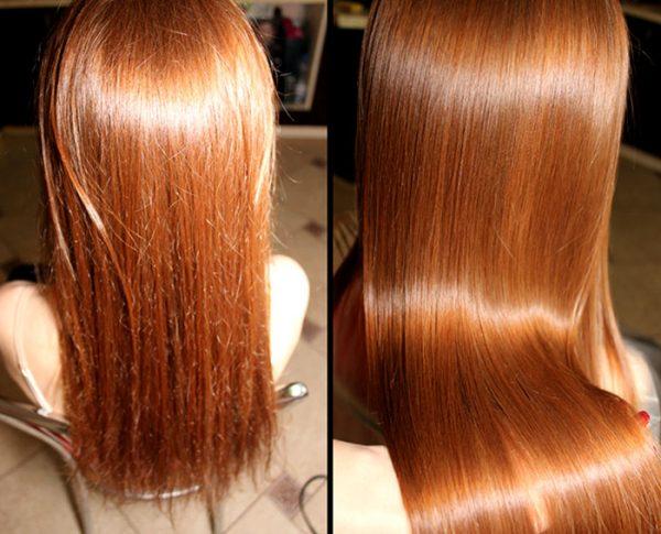 Уход за волосами после полировки волос
