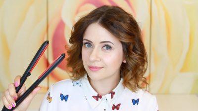 Как накрутить волосы на утюжок каре