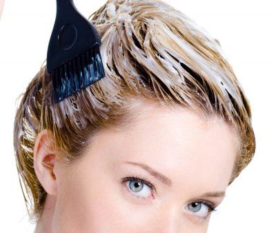 Химическая завивка на окрашенные волосы