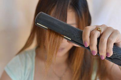Кератиновое выпрямление волос после химической завивки