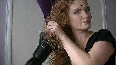 Как завить волосы с помощью фена
