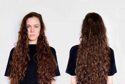 Как накрутить локоны на длинные волосы