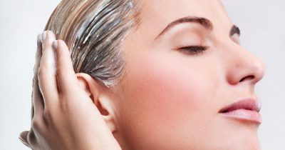 Белая глина для сухих волос