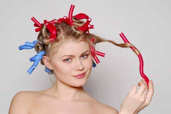 Как накрутить волосы на ночь