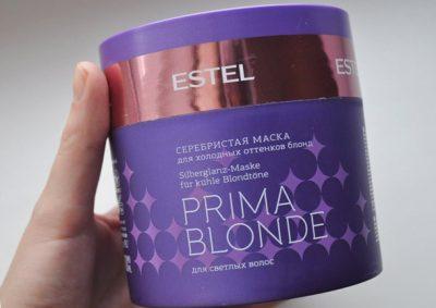 Маска для блондинок Эстель от желтизны волос: обзор средств Estel Prima Blonde и Purple Blond