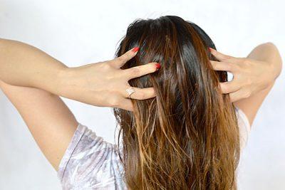 Репейная маска для волос на ночь