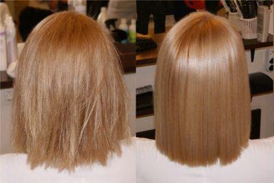 Биоламинирование волос как делают