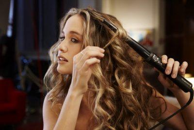 Как сделать крупные локоны на длинные волосы?
