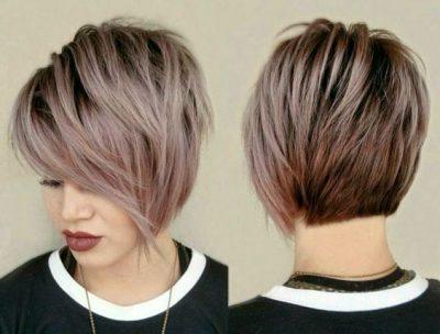 Омбре на короткие волосы (94 фото): особенности окрашивания коротких стрижек каскад и других, омбре с плавным переходом для волос до плеч