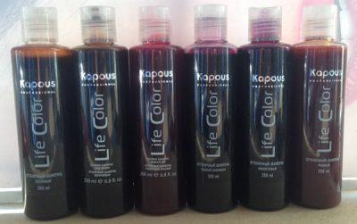 Профессиональный шампунь для окрашенных волос