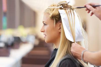 Мелкое частое мелирование на темные волосы
