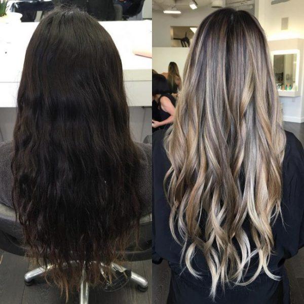 Какой результат: тонирование волос после мелирования
