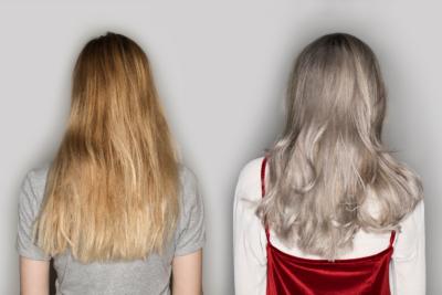 Как затонировать светлые волосы