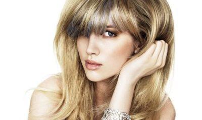 Красивое мелирование блонд