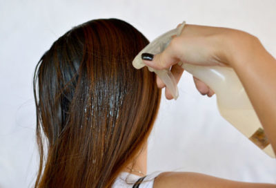 Народные средства от жирности волос