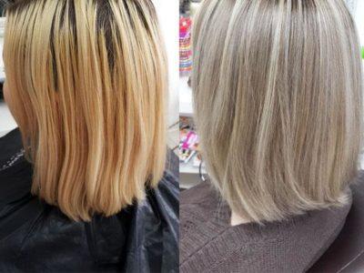 Мелирование на светлые волосы разными способами: фото идеи