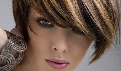 Мелирование на крашеные волосы