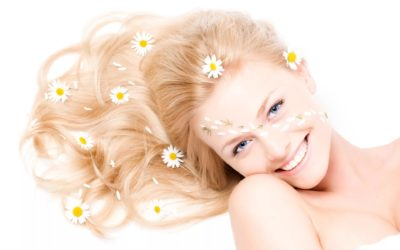 Ополаскивание волос ромашкой