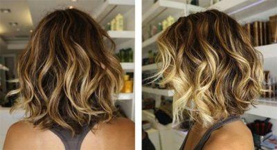 Как красиво покрасить вьющиеся волосы