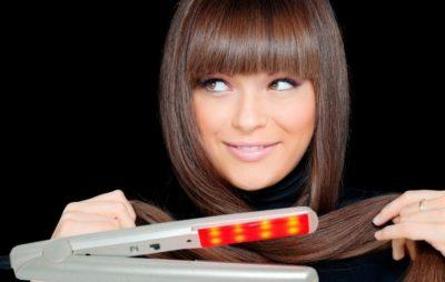 Удивительный аппарат для лечения и восстановления волос — ультразвуковой утюжок. Что о нём надо знать{q}