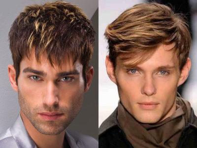 Мелирование на светлые волосы мужчинам