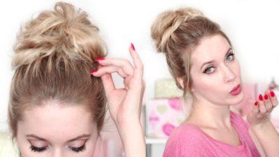 Как заплести гульку на длинных волосах
