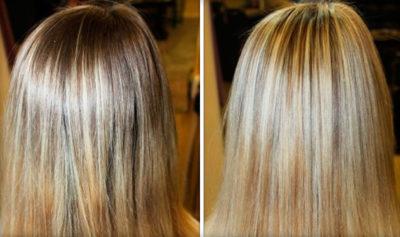 Особенности мелирования на светлые волосы