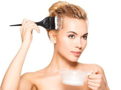 Средство для осветления волос на голове
