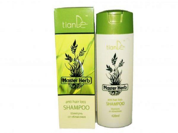 Шампунь от облысения от Тианде - Master Herb TianDe: особенности применения