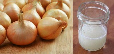 Классический рецепт луковой маски для волос против выпадения