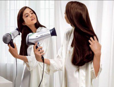 Грамотный уход за сухими кончиками волос