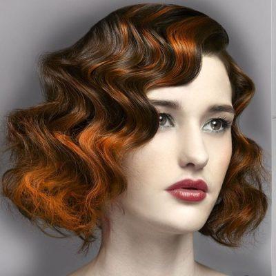Локоны для коротких волос